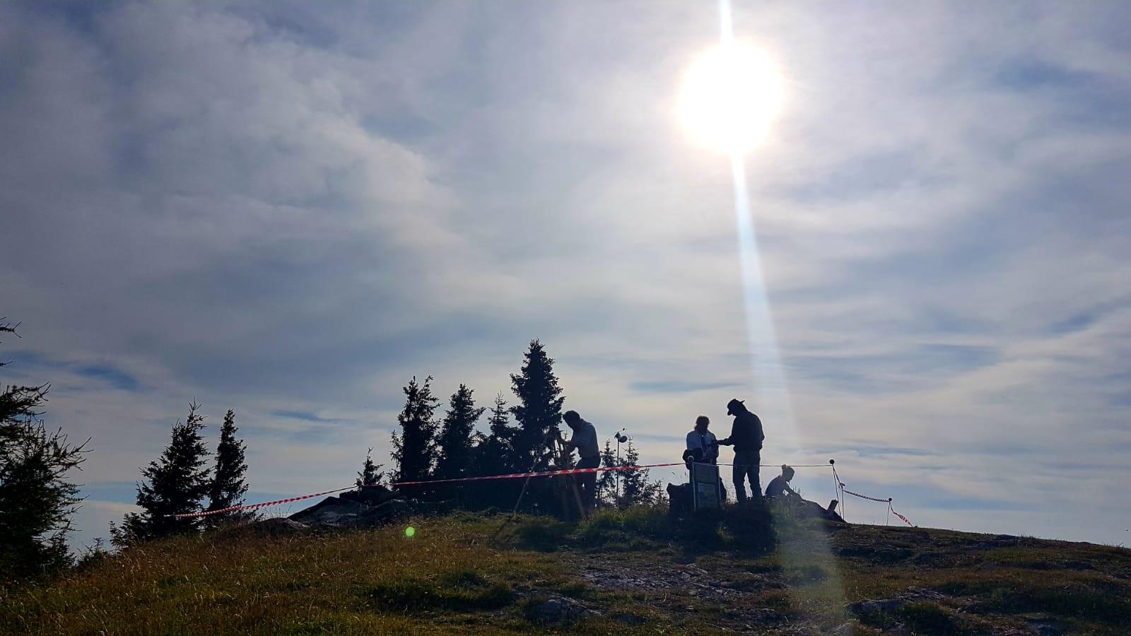 Die dritte GrabuDie dritte Grabungswoche ist die letzte für dieses Jahr, Foto: Levente Horvathngswoche beendet die Arbeiten für dieses Jahr, Foto: Levente Horvath