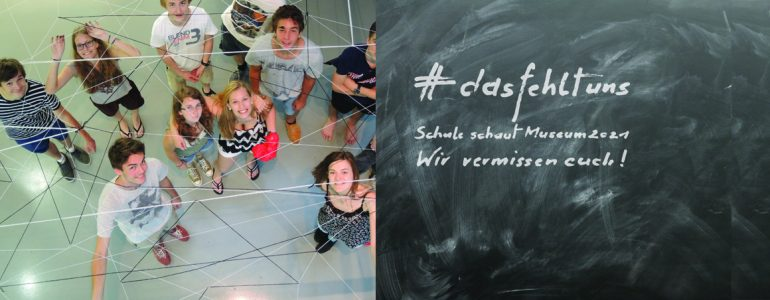 Collage mit Schüler*innen und #dasfehltuns.