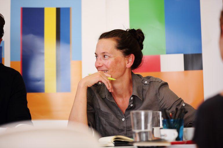 Bettina Habsburg-Lothringen, die Leiterin des Museums für Geschichte, das im Rahmen der STEIERMARK SCHAU (die neue Landesausstellung) zeigt was war.