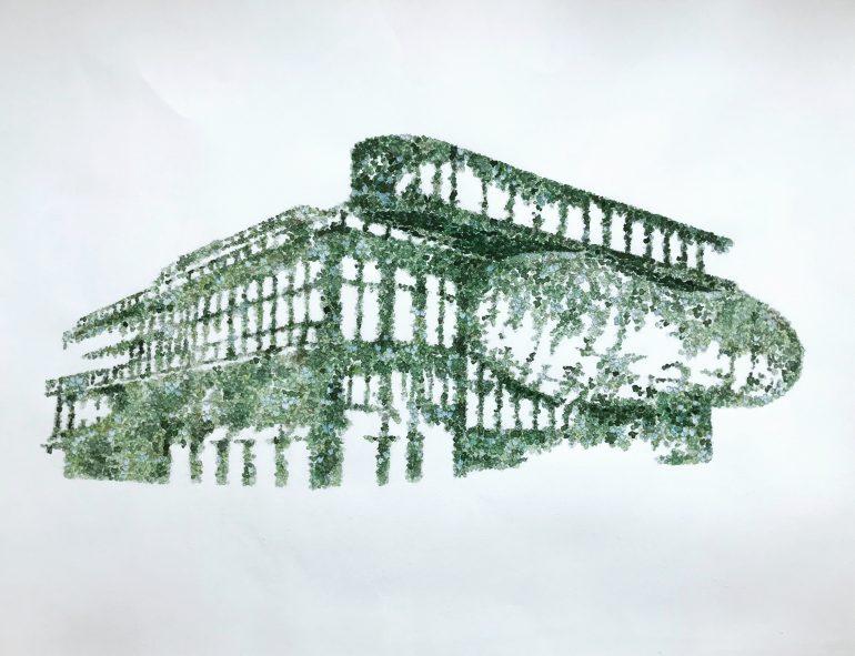 Eine Zukunftsvision der Steiermarkschau ist ein begrüntes Kunsthaus Graz.