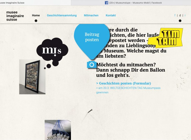 Screenshot musee imaginaìre suisse