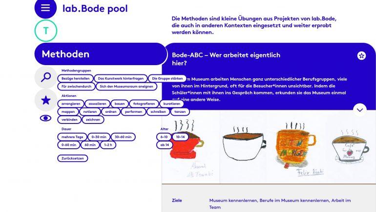 Screenshot lab.Bode pool