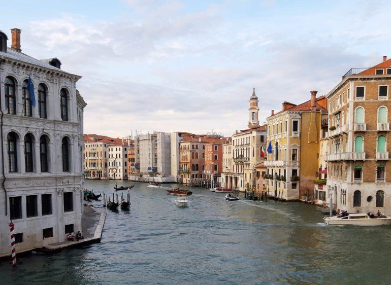 Blick auf die Altstadt von Venedig