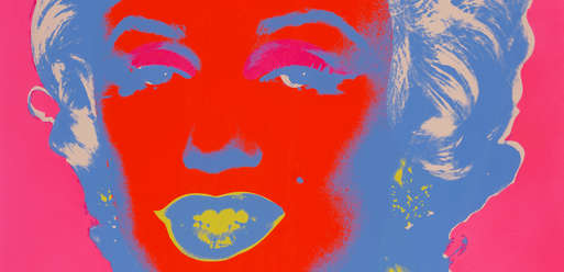 """Andy Warhol, """"Untitled from Marilyn Monroe"""", 1967,"""