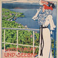 "Stephanie Glax, Plakat ""Wintercurort und Seebad Abbazia"", 1897/99."