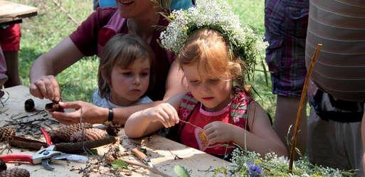 Blumenkränzchen, Kindererlebnistag,