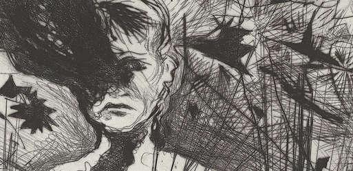 "Günter Brus, ""Kurzschluss"", 1990 (Detail),"