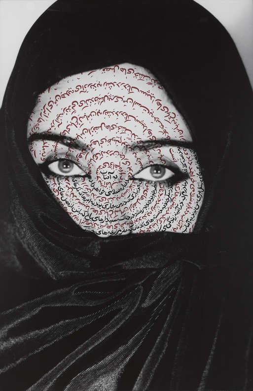 """Shirin Neshat, """"I Am Its Secret"""", 1993, (Aus der Serie: Women of Allah, 1993-1997)"""