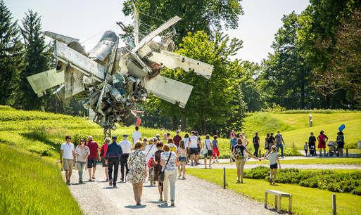 Sommerfest im Österreichischen Skulpturenpark,