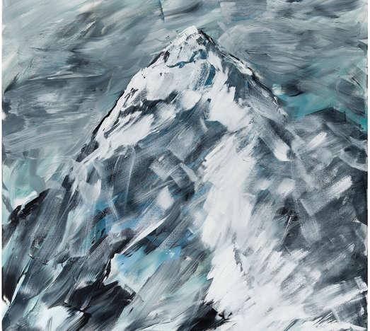 Acryl auf Leinwand, 218 x 170 cm, Courtesy des Künstlers