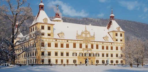 Schloss Eggenberg im Winter,