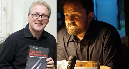 Die beiden Autoren Hans Breitegger (links) und Robert Preis (rechts)