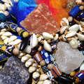 Muscheln, Salz und Steine. Foto: UMJ/C. Ertl.