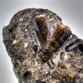 Dravitkristalle aus Dravograd, Slowenien. Kristallgröße ca. 4 cm. Sammlung Mineralogie,UMJ. Foto: H.-P. Bojar, UMJ