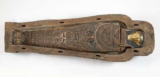 Mumie und Sarg des Pahes, 2. Jahrhundert v. Chr.,