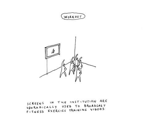 """Aldo Gianotti, """"Workout"""", 2016"""