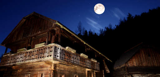 Mondführung im Österreichischen Freilichtmuseum Stübing,
