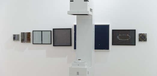"""Wendelin Pressl: """"Maschine zur Überwindung des Raum Zeit Kontinuums"""", Foto: Universalmuseum Joanneum/N. Lackner"""