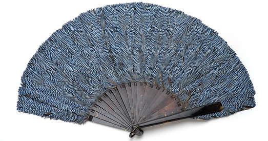 Fächerblätter aus Schildpatt, 19. Jhdt., Foto: Universalmuseum Joanneum/N. Lackner