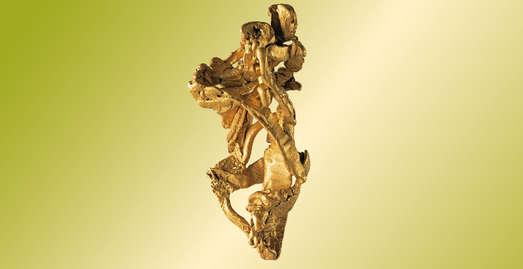 Gold, Katharinenburg, Ural, Russland, Sammlung Mineralogie, Universalmuseum Joanneum, Foto: Universalmuseum Joanneum/N. Lackner