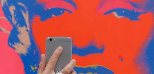 "#museumselfie, Andy Warhol, ""Untitled from Marilyn Monroe"", 1967,"