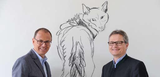 Joanneums-Direktor Wolfgang Muchitsch mit Museums-Leiter Karlheinz Wirnsberger,