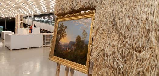 Werke von Olaf Holzapfel, Foto: Universalmuseum Joanneum/N. Lackner
