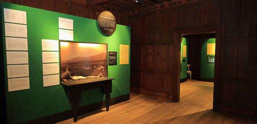 Peter Roseggers Landhaus, Peter Rosegger Museum Krieglach Studierhaus innen