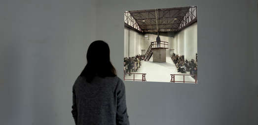 Interaktive Videoinstallation, © Jörg Auzinger
