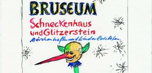 """Günter Brus, """"Schneckenhaus und Glitzerstein"""", 2016,"""