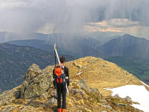 Regen in der Steiermark,