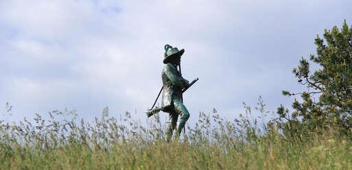 Erzherzog Johann Statue in Mariazell, 1914,