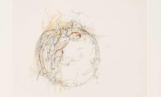 Tusche und Aquarell auf Papier, 29,7 x 20,1 cm, Privatsammlung, Foto: UMJ/N. Lackner
