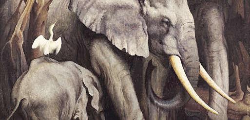 "Norbertine Bresslern-Roth, ""Elefanten"", 1934,"