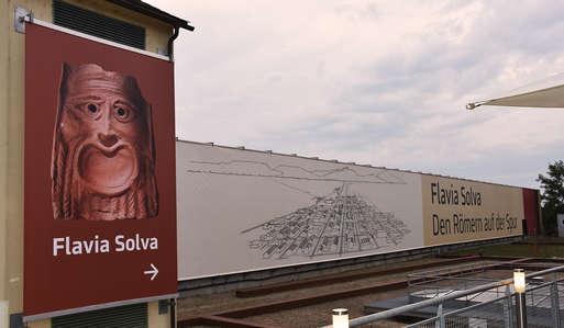 Die neu gestaltete archäologische Stätte Flavia Solva,