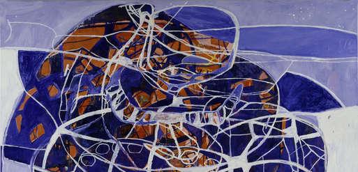 "Terry Winters, ""Phase Plane Portrait"", 1994,"