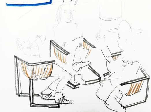 Zeichnung, 2020 © Fritzenwallner/Obermair