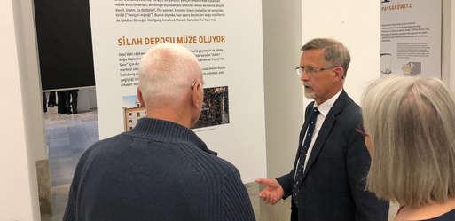 """Eröffnung """"Wir und Passarowitz"""" in Istanbul,"""
