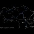 Kontaminiertes Land, Landkarte / Bild: Kadadesign
