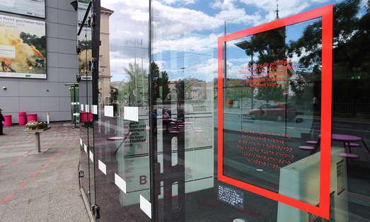 Plakatserie, Kunsthaus Graz, 2020, Foto: Universalmuseum Joanneum/J.J. Kucek