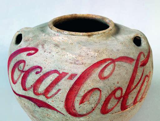 Ai Weiwei, Han Dynasty Urn with Coca-Cola Logo, 1994,