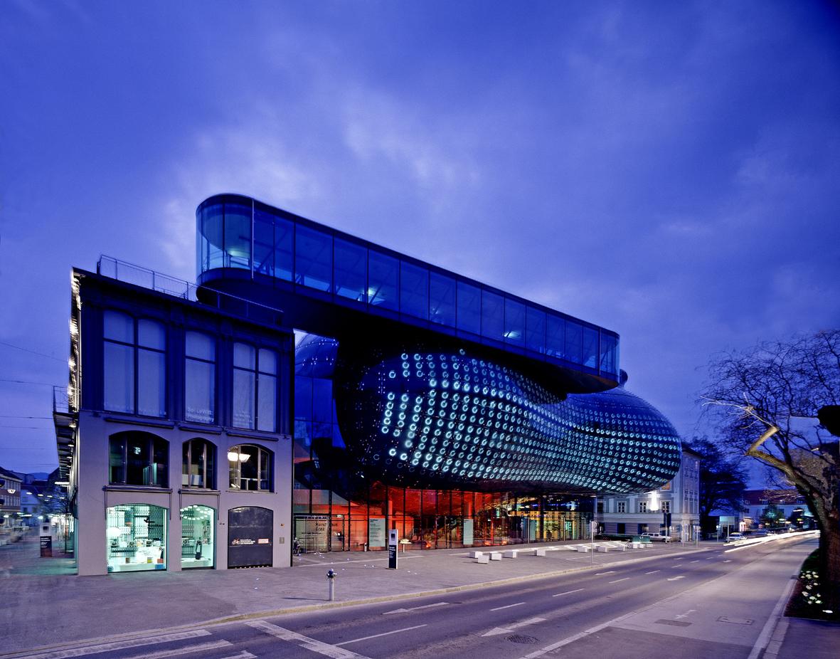 Admin Building Floor Plan Architektur Kunsthaus Graz Kunsthaus Graz