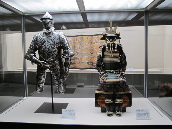 Ôsaka Castle and Eggenberg Castle. Arms and Armor of Austria and Japan