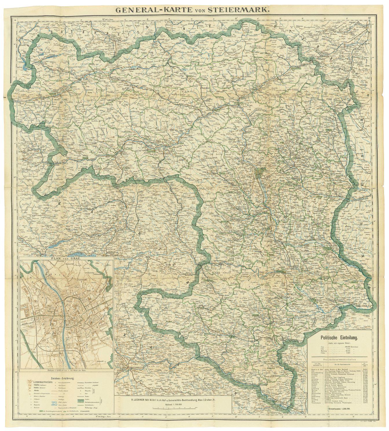 Karte Graz.Vorkrieg Die Steiermark Und Der Erste Weltkrieg Museum