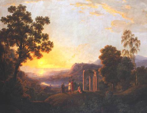 Landschaftsmalerei barock  Natur im Bild - Ausstellung   Neue Galerie Graz